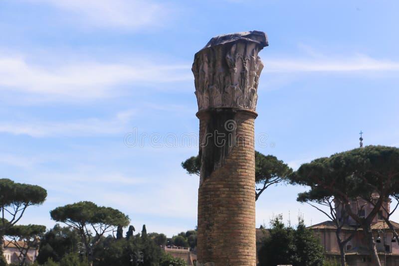 Lugar histórico em Roma fotografia de stock royalty free