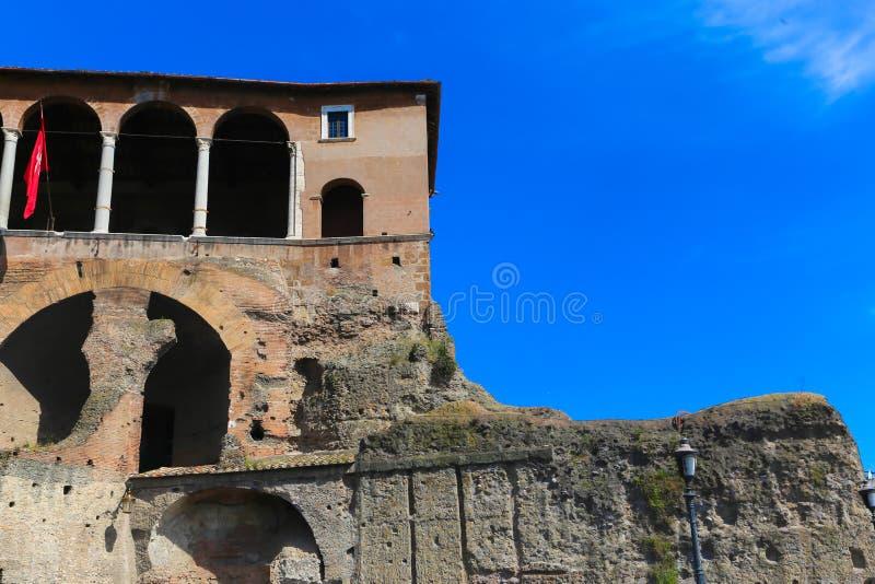 Lugar histórico em Roma fotografia de stock