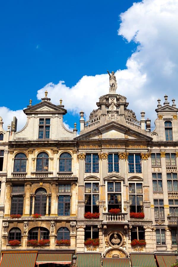 Lugar magnífico, Bruselas imágenes de archivo libres de regalías
