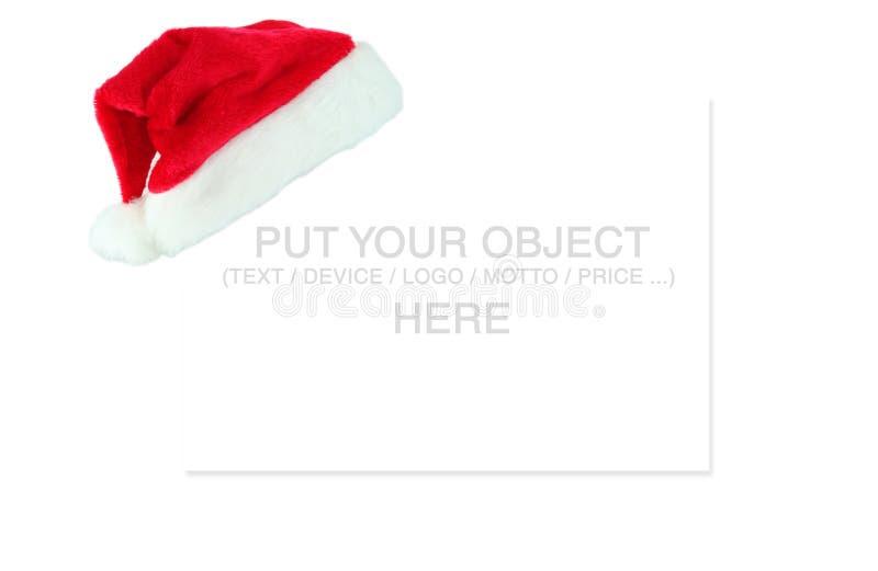 Lugar para a mensagem do Natal imagens de stock royalty free
