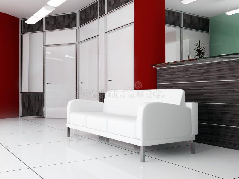 Lugar para o descanso no escritório imagem de stock royalty free