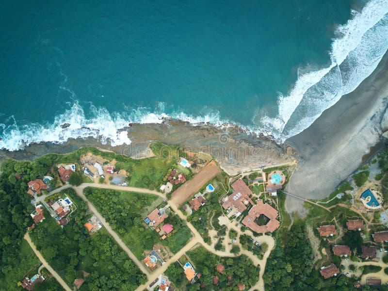 Lugar para o turista em Nicarágua fotografia de stock royalty free