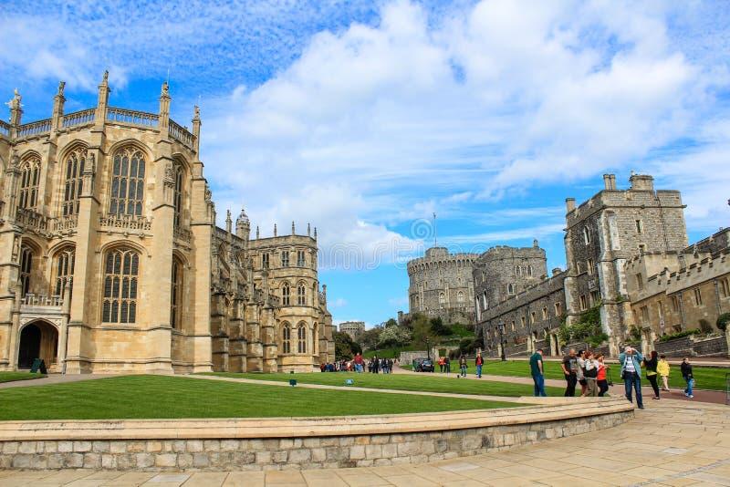 Lugar turístico Castillo de Windsor Reino Unido foto de archivo libre de regalías