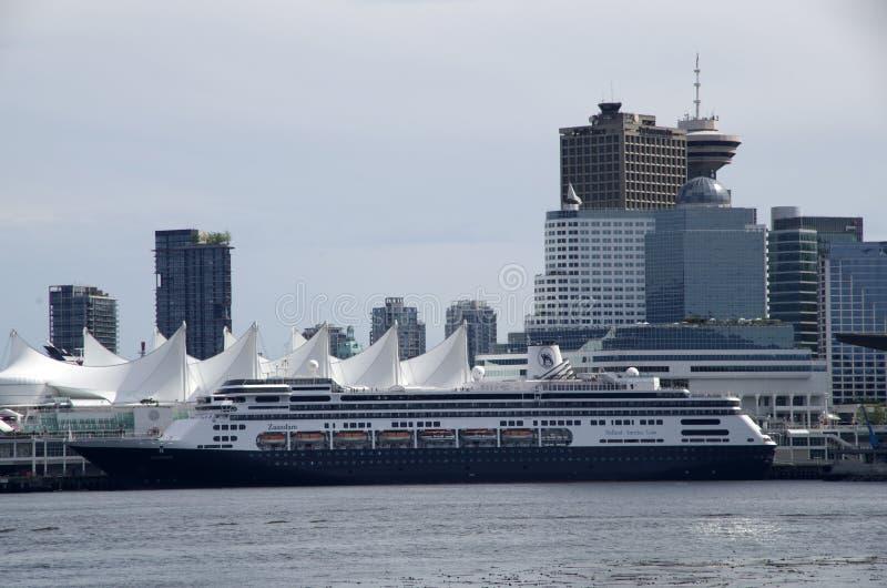 Lugar Vancouver de Canadá céntrica fotografía de archivo libre de regalías