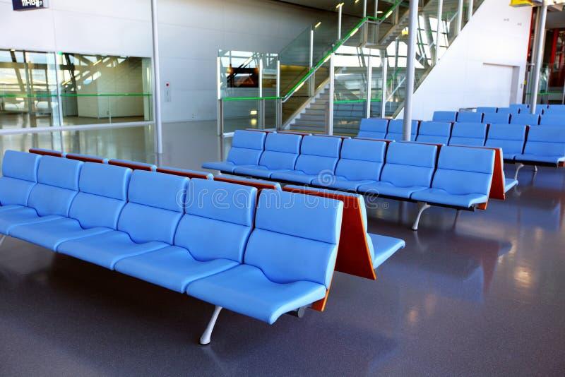 Lugar vazio no aeroporto fotografia de stock royalty free