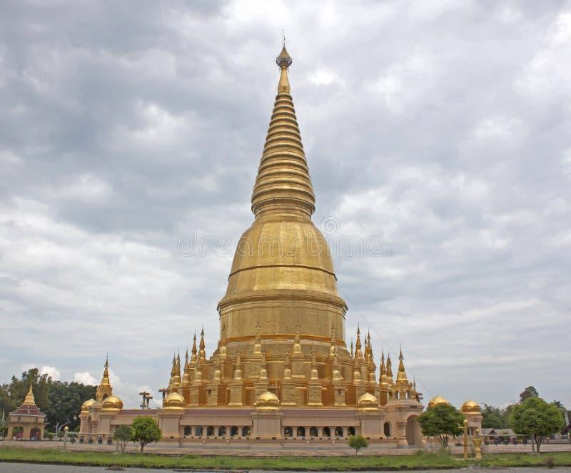 Lugares de culto budistas fotografía de archivo