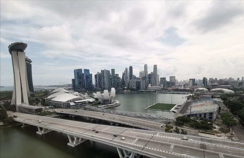 Lugares de las atracciones de Singapur imagen de archivo