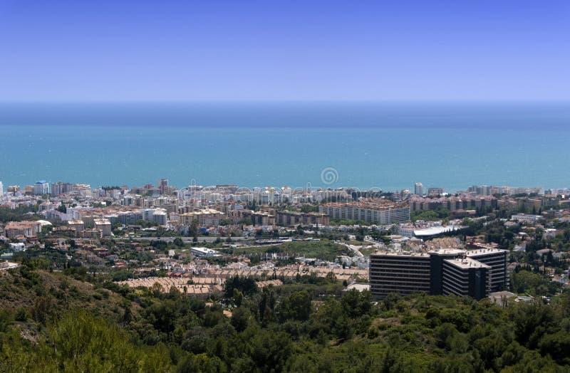 lugares de vacaciones en España, Marbella photo stock