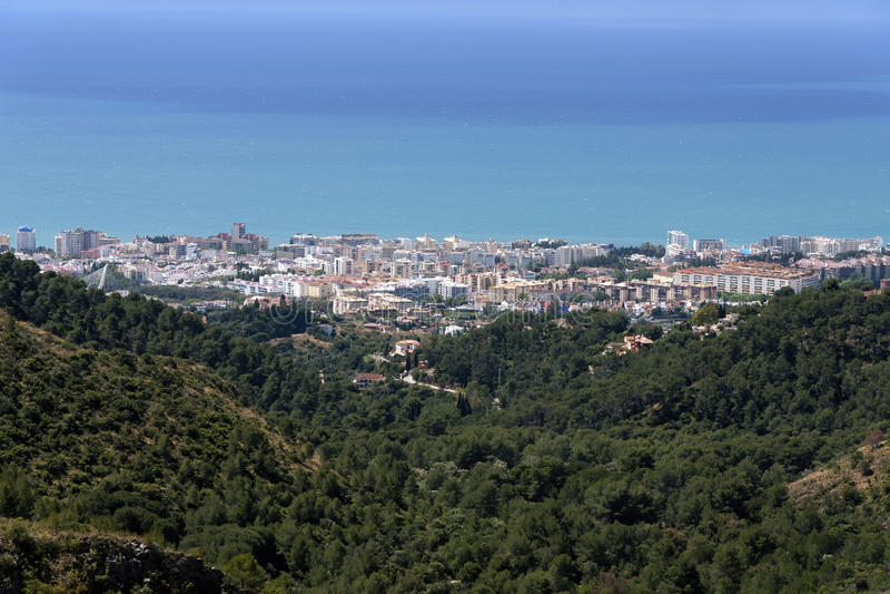 lugares de vacaciones en España, Marbella images libres de droits
