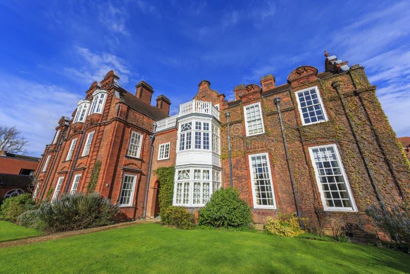 Lugares hermosos alrededor de la Universidad de Cambridge famosa imagen de archivo libre de regalías