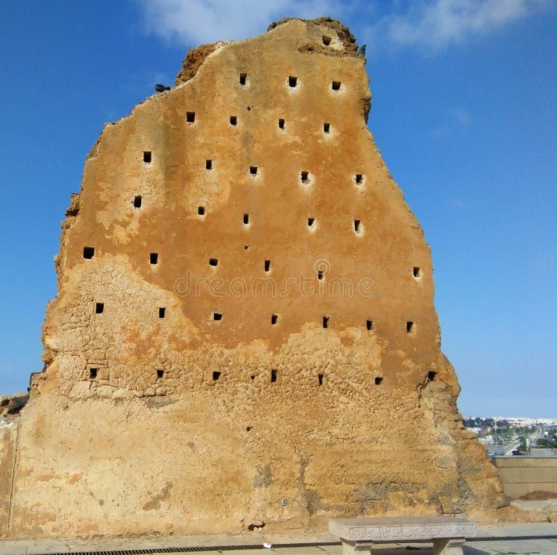 Lugares históricos de Marruecos fotografía de archivo