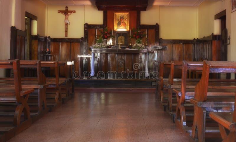 Lugares sagrados Maria Chapel imagen de archivo