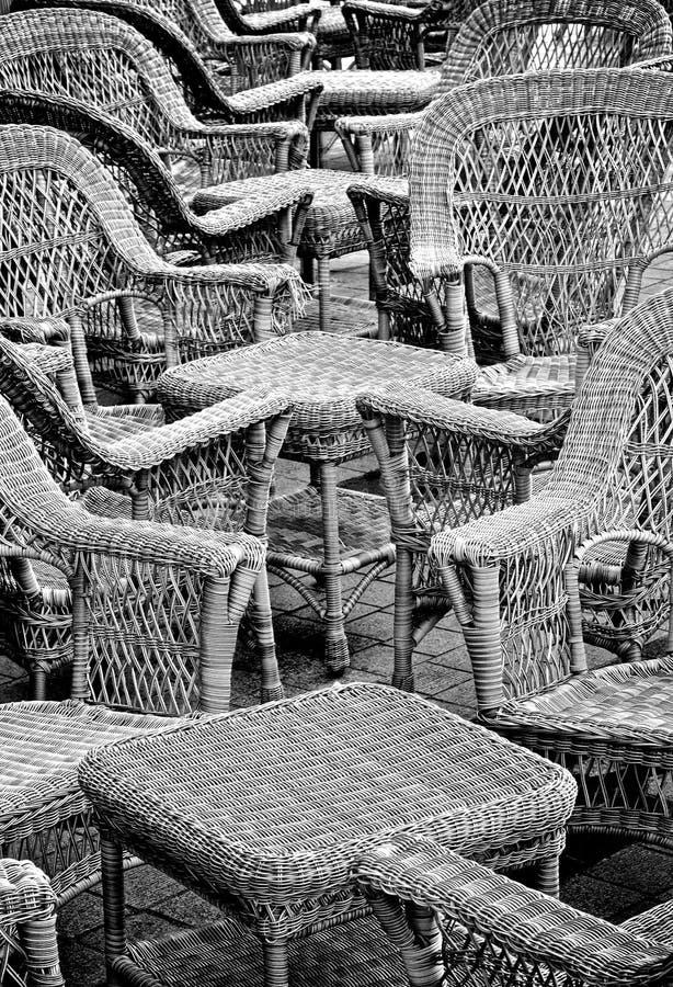 Lugares vazios em um café foto de stock