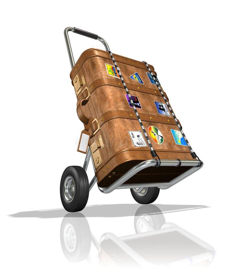 Luggage royalty free illustration