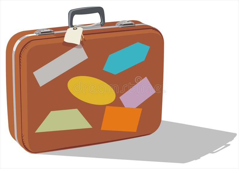 Download Luggage stock illustration. Image of carrying, public - 2338403