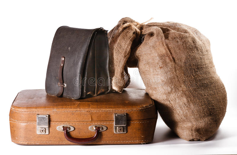 Download Luggage stock photo. Image of heap, packing, isolated - 28154284