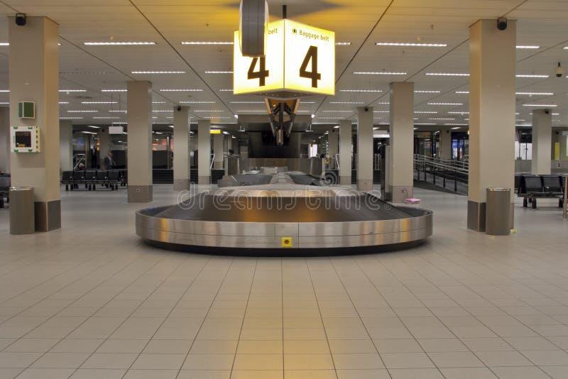 Luggage belt stock photo
