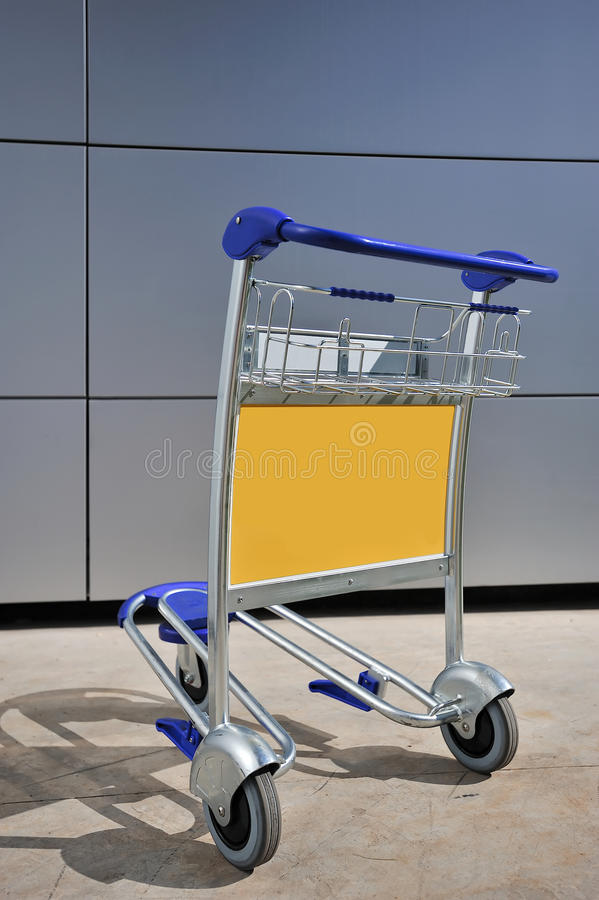 Download Luggage Carrier or Trolley stock photo. Image of holder - 14893920