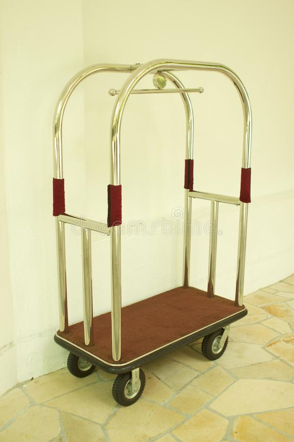 Download Luggage Cart stock photo. Image of bell, hotel, travel - 21936042
