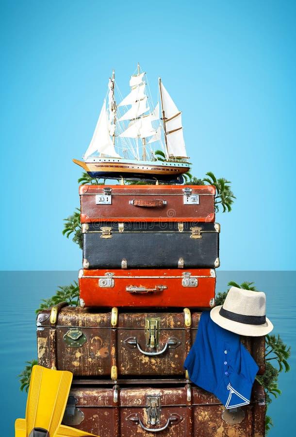 Luggage royalty free stock photography