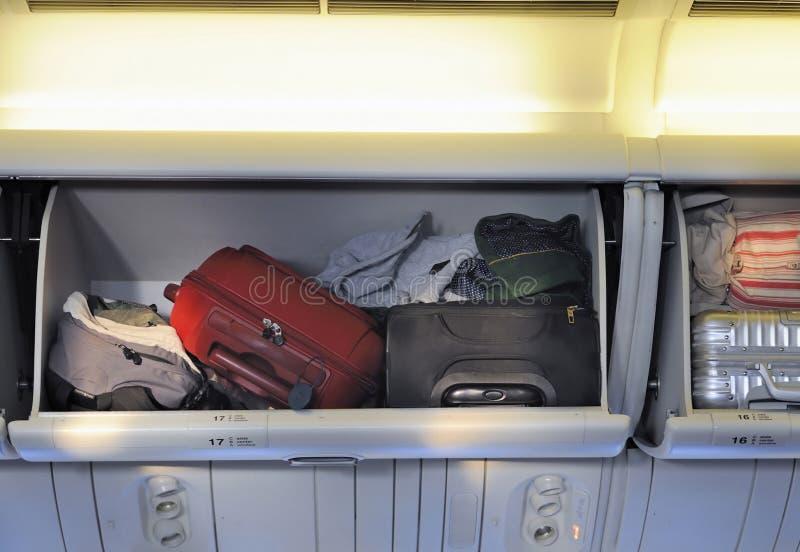 Luggage storage stock image