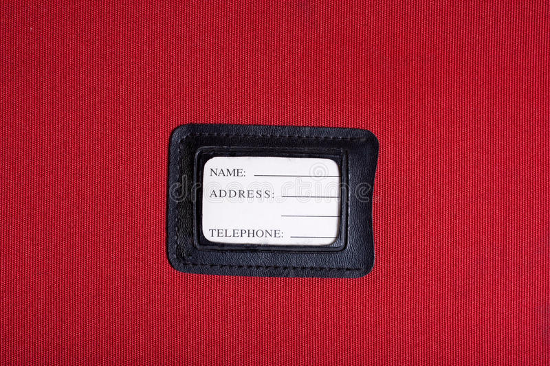 Download Luggage Tag Stock Photo - Image: 23303620