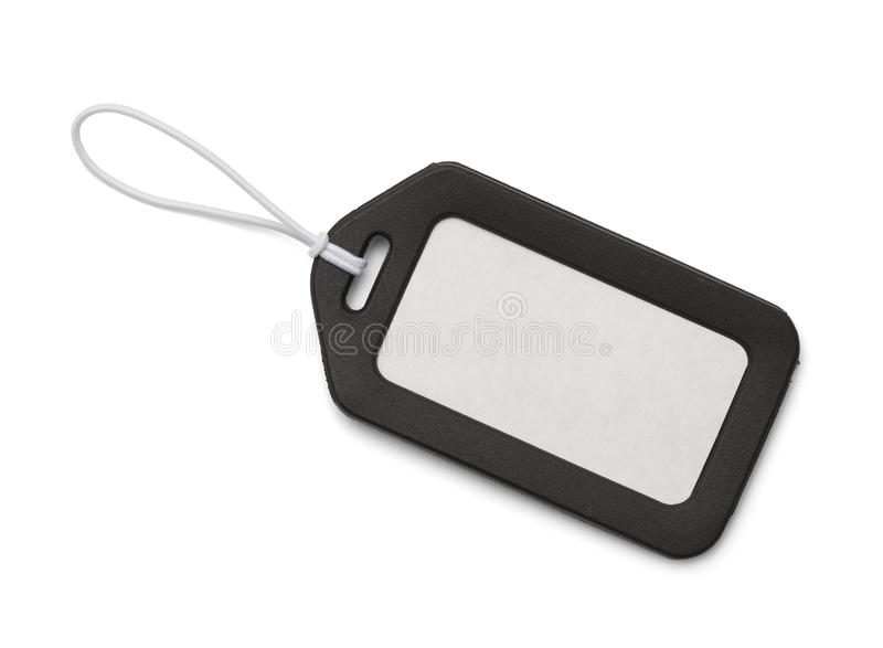 Luggage Tag Stock Photography
