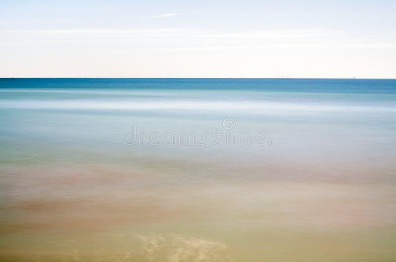 Lugna hav 3 arkivbilder