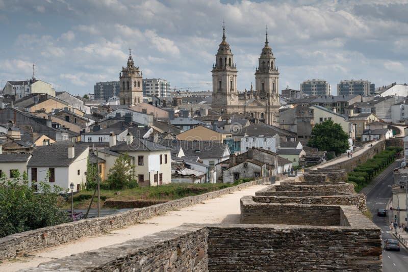 Lugo, Galicie, Espagne photos libres de droits