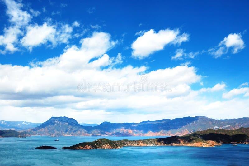 lugu озера стоковые фото