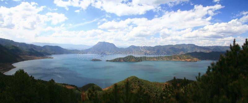 lugu озера стоковые фотографии rf