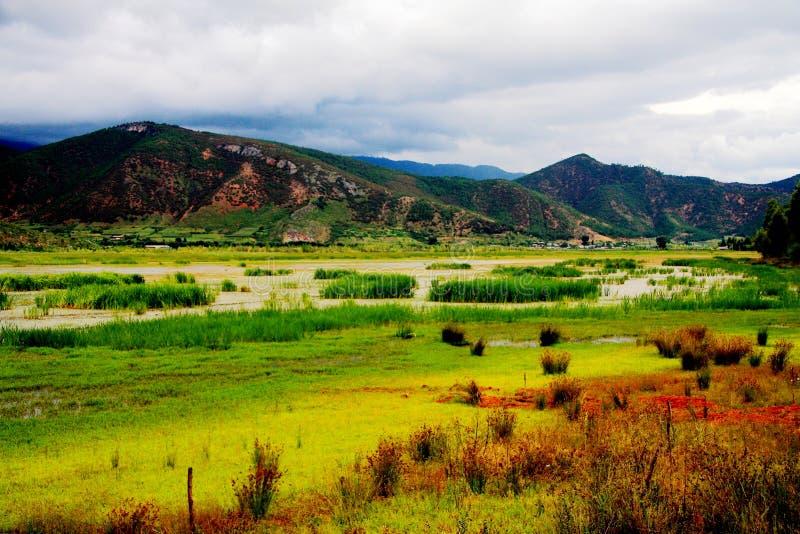 Lugu jezioro perła plateau zdjęcie stock