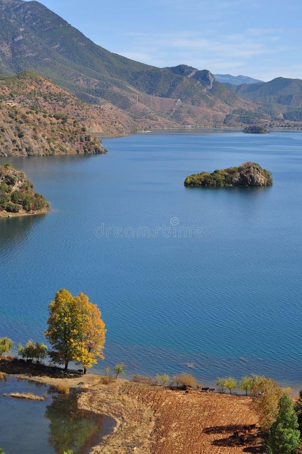 Free Lugu Lake Scenic Area, Beautiful Lake In China,The Boat, Waterfowl Stock Photos - 69571923
