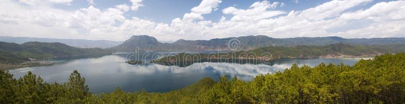 Lugu Lake In Yunnan, China Stock Image