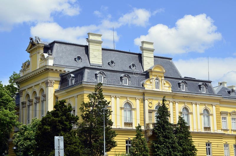 Lui Art Gallery nazionale a Sofia, fotografie stock libere da diritti