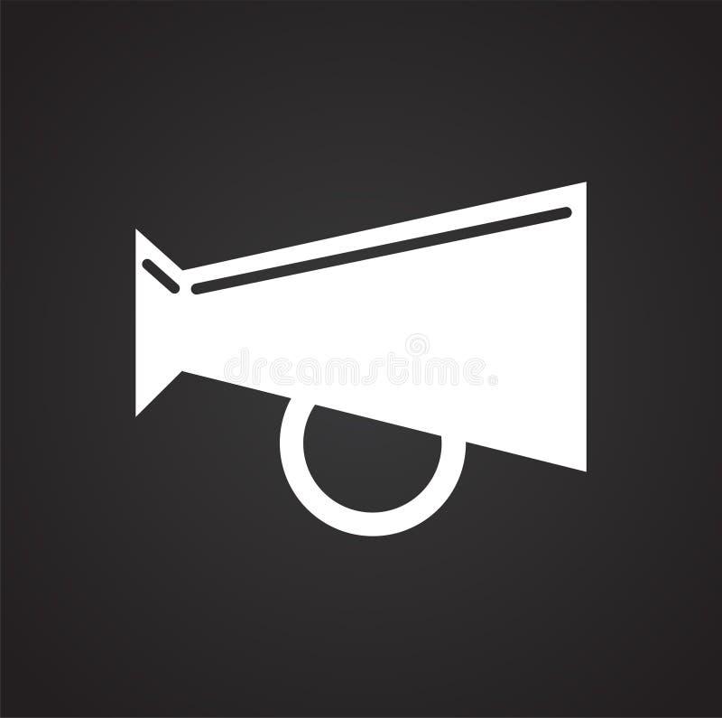 Luid hailerpictogram op witte achtergrond voor grafisch en Webontwerp, Modern eenvoudig vectorteken Het concept van Internet In s vector illustratie