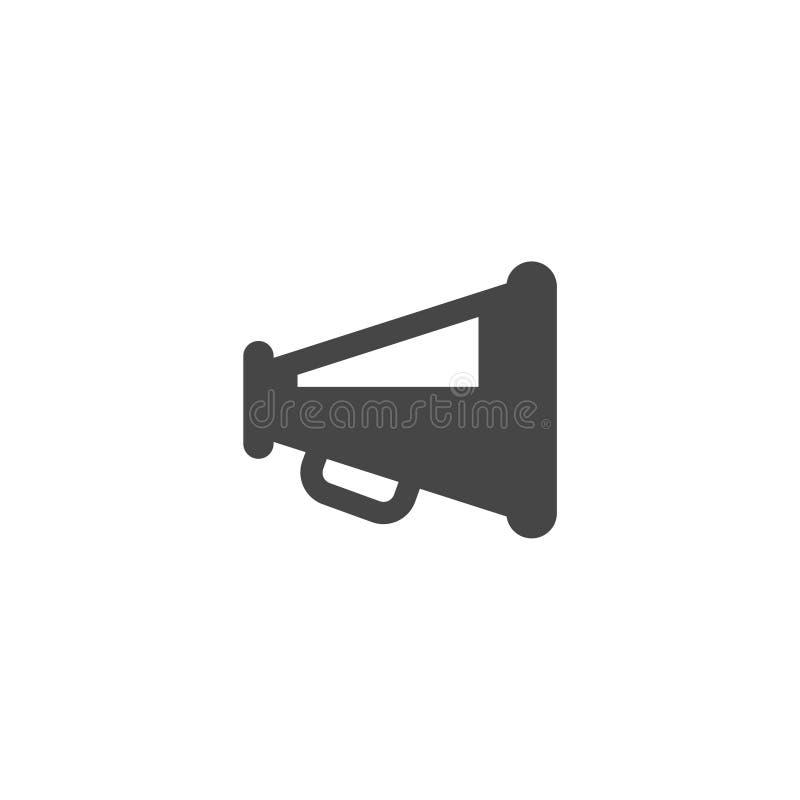 Luidsprekerspictogram, Megafoonspictogram vector illustratie