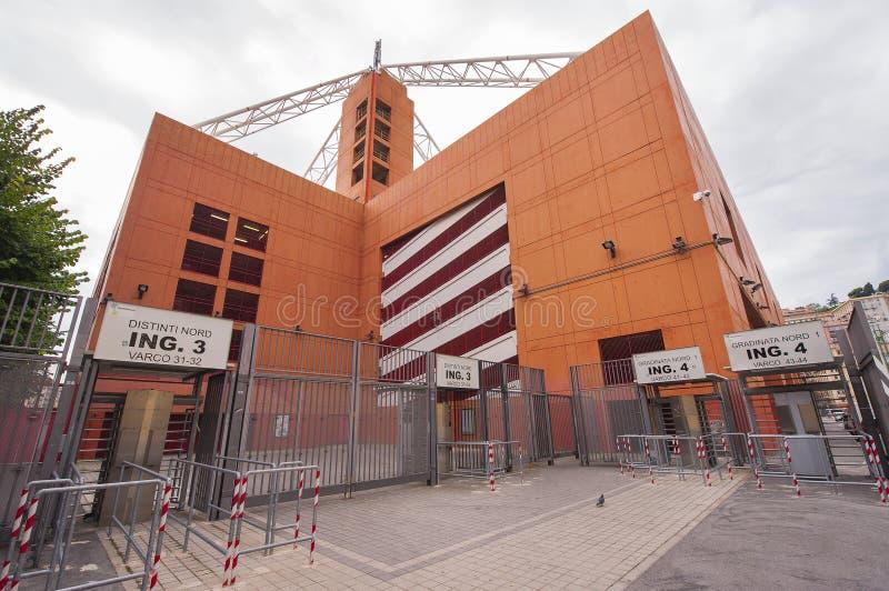 Luigi Ferraris Stadium fotografering för bildbyråer