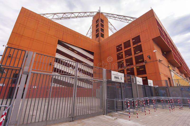 Luigi Ferraris Stadium arkivfoto