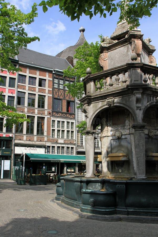 Luik, België stock fotografie