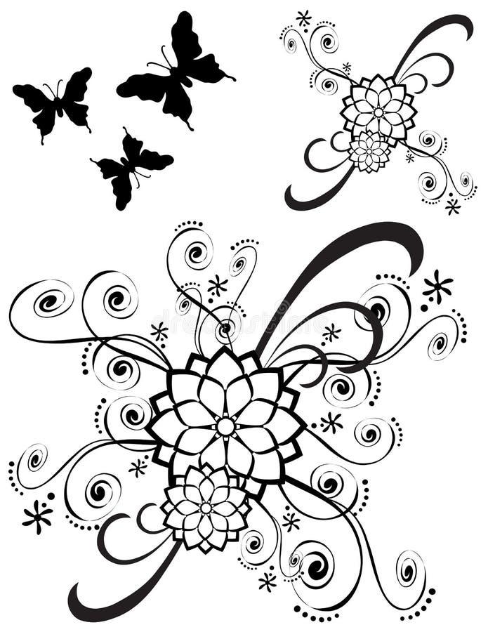Luim Gedetailleerde Decoratie 79 royalty-vrije illustratie