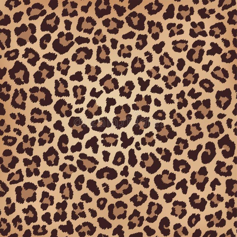 Luipaard beige bruine textuur, bontimitatie Vector royalty-vrije stock afbeeldingen