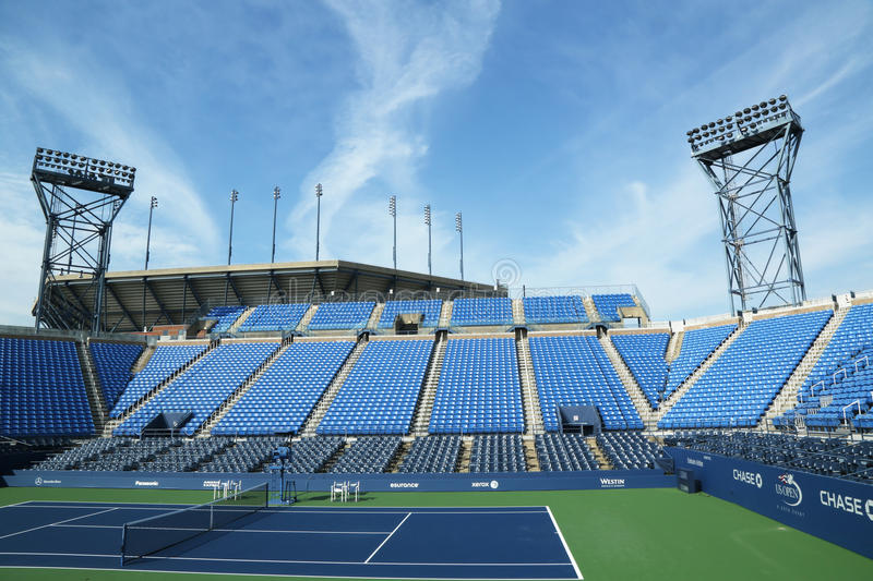Download Luis Armstrong Stadium At The Billie Jean King National Tennis Center Ready For US Open Tournament Editorial Photo - Image: 33100101