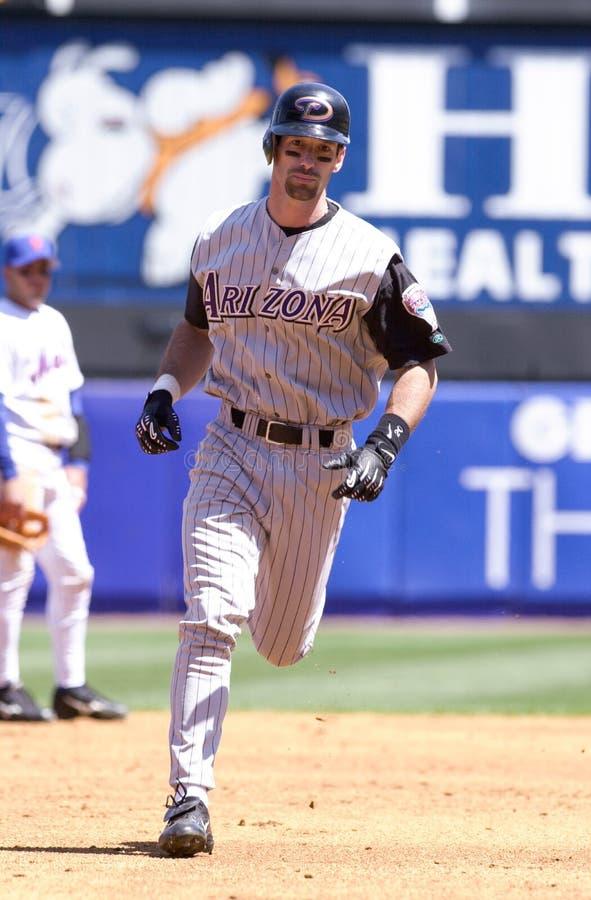 Luis Gonzalez DE, Arizona Diamondbacks imagen de archivo