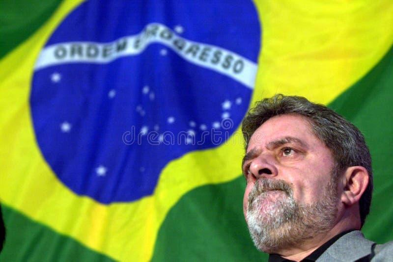Luis Inacio Lula da Silva royalty-vrije stock foto