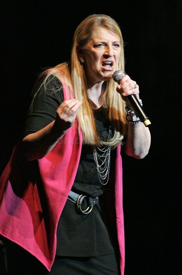 Luis Miguel führt im Konzert durch lizenzfreie stockfotografie