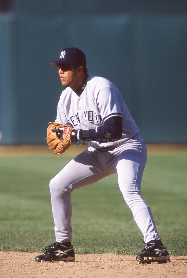 Luis Sojo. New York Yankees infielder Luis Sojo. Image taken from color slide royalty free stock photos