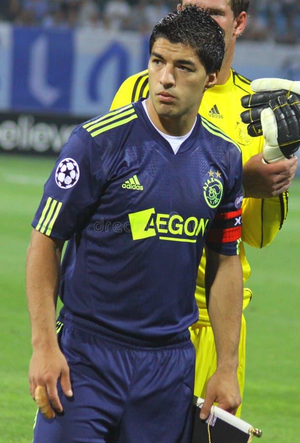 Luis Suarez del AFC Ajax fotografia stock
