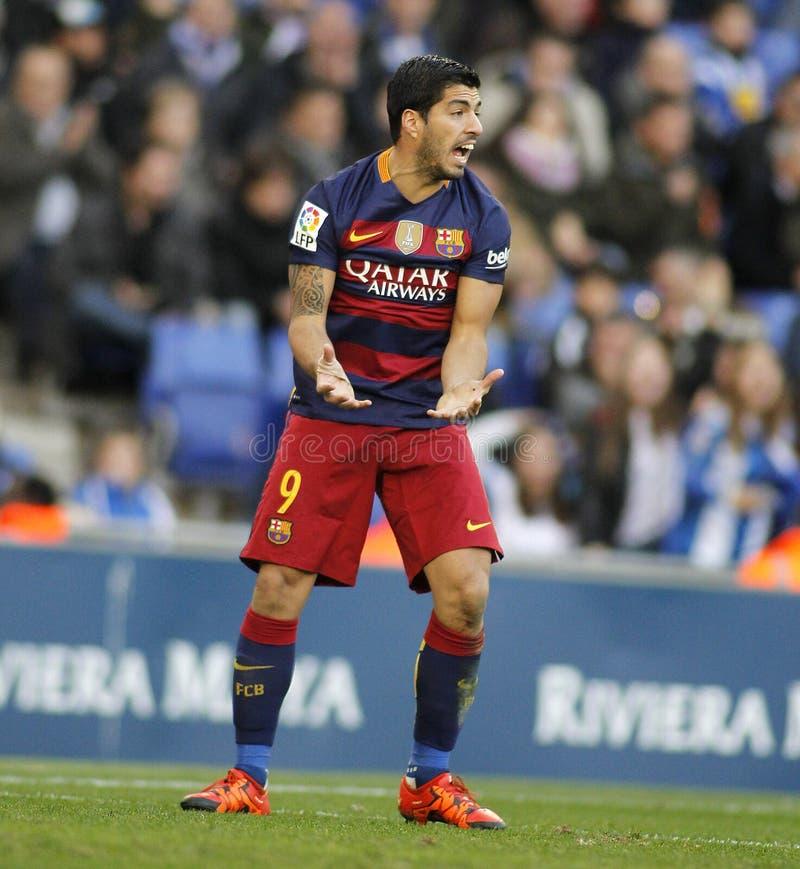Luis Suarez del FC Barcelona fotos de archivo