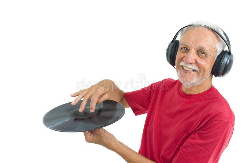 Luister Muziek royalty-vrije stock afbeeldingen